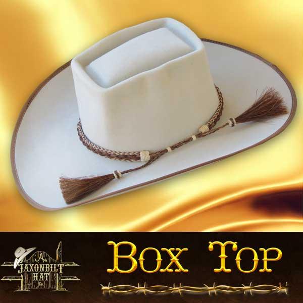 945f30a97 29 BOX TOP – Jaxonbilt Hats