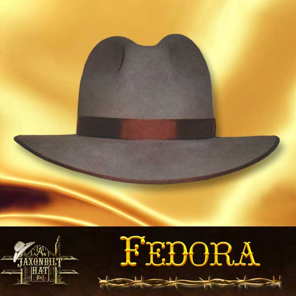 c7e1f2793e24c7 23 FEDORA – Jaxonbilt Hats