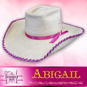 Kids Custom Straw Hats, Abigail