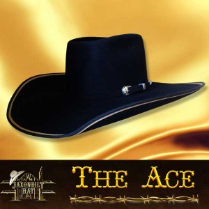 #3 Ace Custom Cowboy Hat