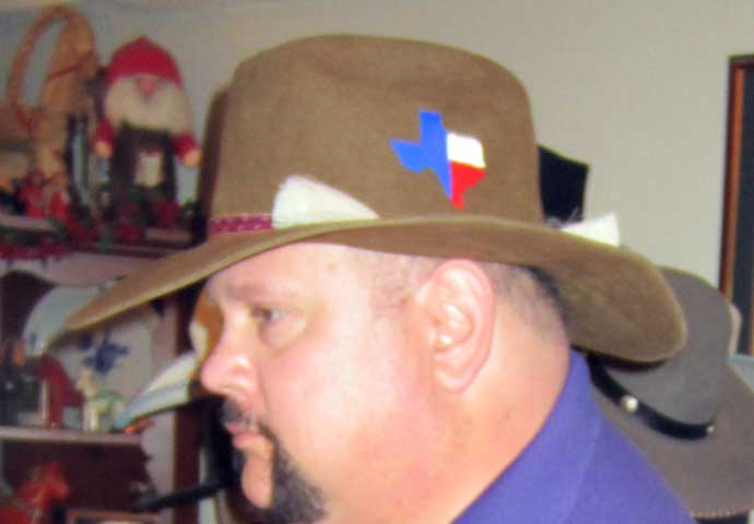 Andy's Texas Bad Ass Hat