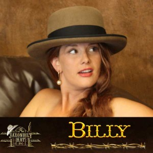 Billy the Kid Cowgirl Hat
