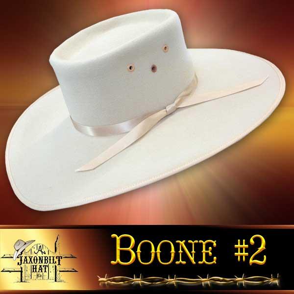 Boone #2 Custom Cowboy Hat