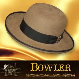 #22 Bowler Custom Hat