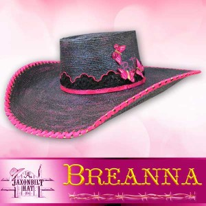 Kids Custom Straw Hat, Breanna