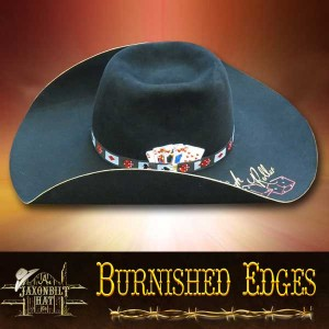 Burnished Edges Hat