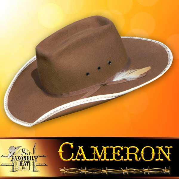 79d22279b67a29 Cameron Kids Cowboy Hat – Jaxonbilt Hats