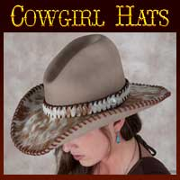 CUSTOM ORDER Cowgirl Hats