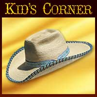 Kids Western Hats, Custom Kids Hats