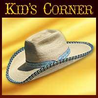 Kids Western Hats, Custom Kids Hats