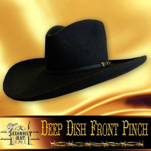 #34 Deep Dish Front Pinch Hat