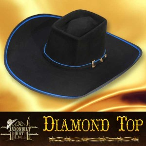 #28 Diamond Top Cowboy Hat