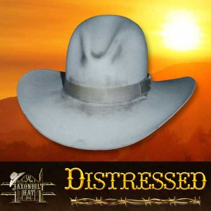 #13 Distressed Look Hat