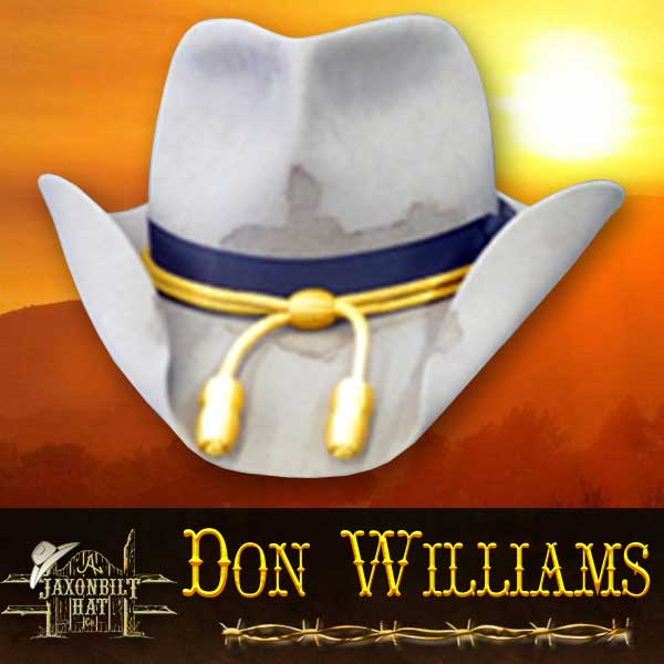 Don Williams Custom Movie Hat