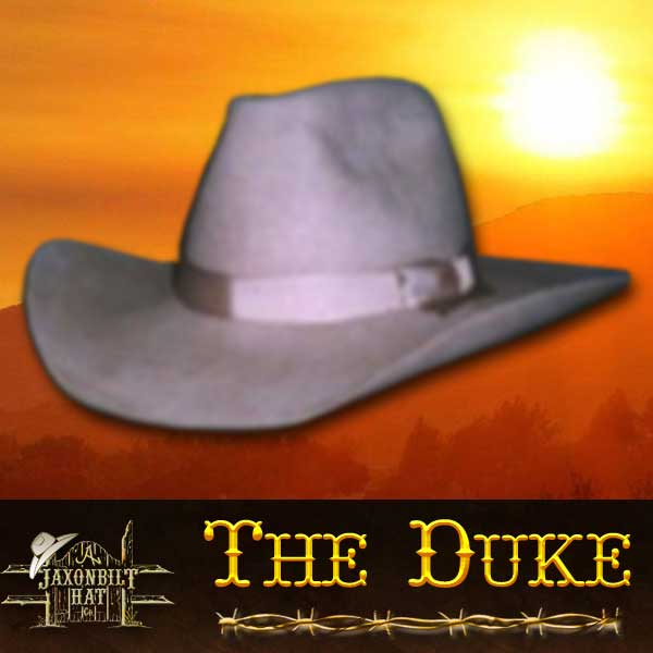 Duke Western Movie Hat