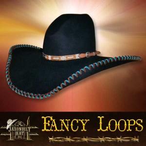 #24 Fancy Loops Custom Hat