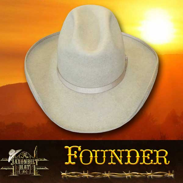 Custom cowboy hats, Founder