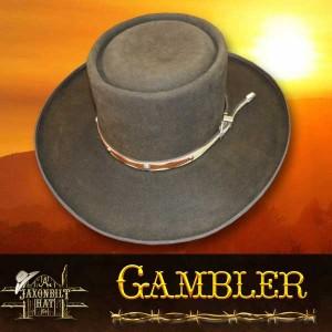 #35 Gambler Western Hat