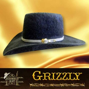 #16 Grizzly Cowboy Hat