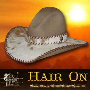 #17 Hair On Custom Hat