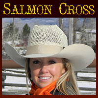 JB's Custom Order Salmon Cross Hats