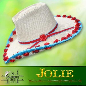Kids Custom Straw Hats, Jolie