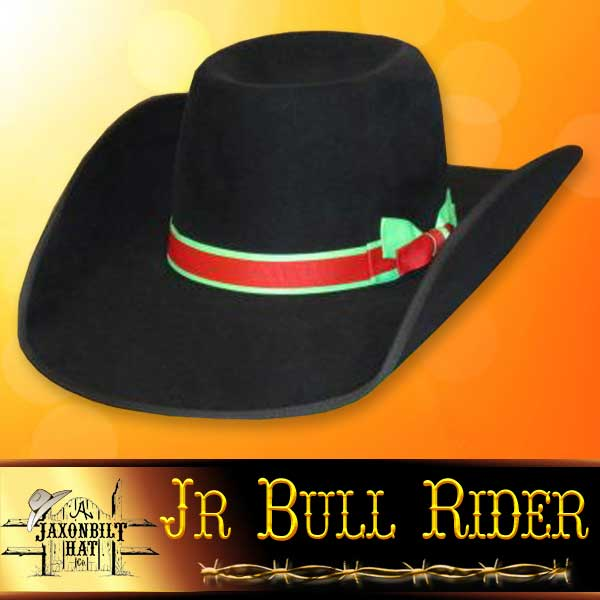 8f0fb38143a26d Junior Bull Rider Custom Hat – Jaxonbilt Hats