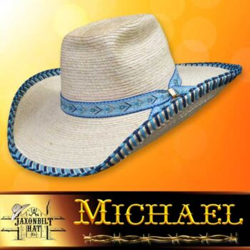 Kids Custom Straw Hat, Michael
