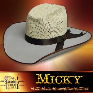 Micky Salmon Cross Hat