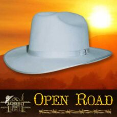 fur felt hats, open road hat