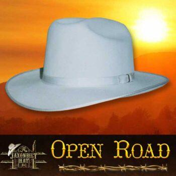 fur felt hats, open road hat