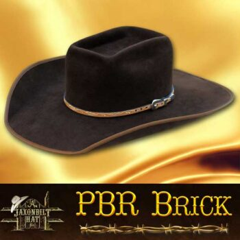 PBR Brick Fur Felt Hat