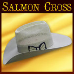 CUSTOM ORDER Salmon Cross Hats