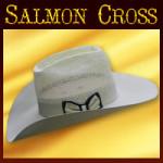 CUSTOM ORDER Salmon Cross Hats