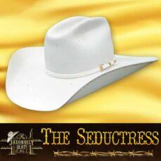 Custom cowgirl hats, Seductress