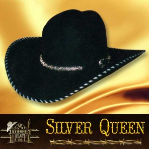 Silver Queen Cowgirl Hat