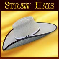 CUSTOM ORDER Straw Hats