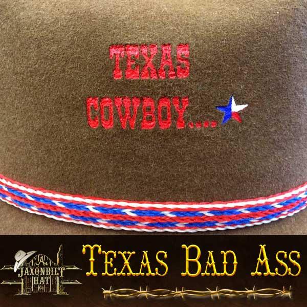 a72899f71e68d 37 Texas Bad Ass – Jaxonbilt Hats
