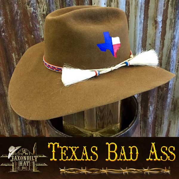 Texas Bad Ass Custom Hat