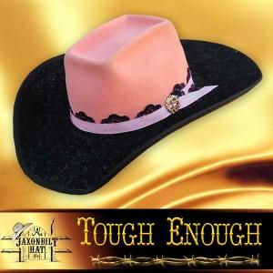 Tough Enough Cowgirl Hat