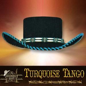 #21 Turquoise Tango Hat