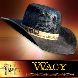 Wacy Salmon Cross Hat